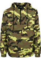 Camo Pull Over Windbreaker 34