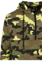 Camo Pull Over Windbreaker 37
