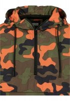 Camo Pull Over Windbreaker 66