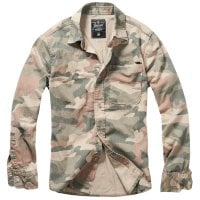 Camouflage shirt light woodcamo