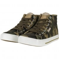 Canvas sneakers camo 1