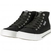 Canvas sneakers black/white