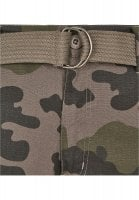 Cargo shorts with belt camouflage 10