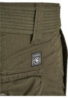 Cargo shorts with belt and ripstop 15