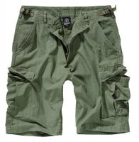 Ripstop cargo shorts men olive