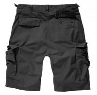 Ripstop cargo shorts men black 2