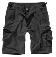 Ripstop cargo shorts men black