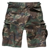 Ripstop cargo shorts men woodcamo 2