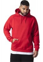 Classic hooded sweater red