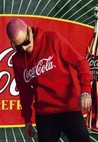 Coca Cola red hoodie with embroidery 1
