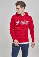 Coca Cola red hoodie with embroidery 2