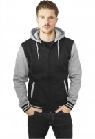 College zipped hoodie