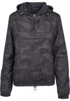 Dam anorack camo plus size front