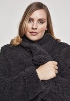 Ladies Soft Sherpa Coat big collar