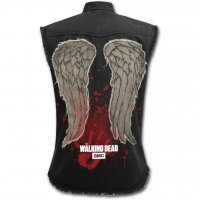 Daryl Wings Waking Dead workershirt dam