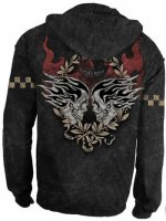 "Alchemy ""Death Race Marlite/Black"" Mens Hoodie"