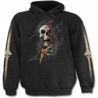 Death re-ripped hoodie