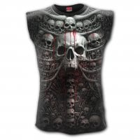 Death Ribs sleeveless T-shirt 1