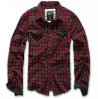 Ducan checkered shirt red