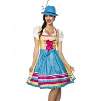 Colorful Tyrolean dress