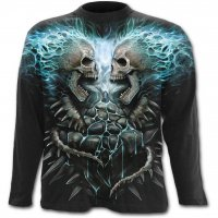Flaming spine longsleeve