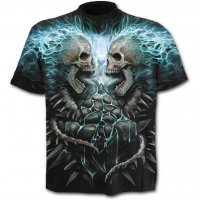 Flaming spine t-shirt - fram