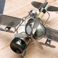 Aviator Metal Wine Rack  4