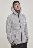 Fleece sweater with hood sir