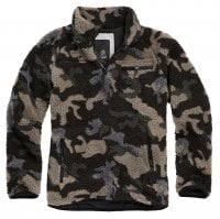 Fleece jacket teddy pullover camo 2