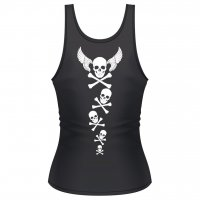 Flying skull linne dam