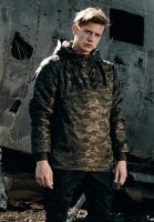 Lined camouflagejacket model