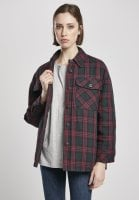 Lined checkered shirt lady 12
