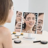 4-in -1 Magnifying LED Mirror