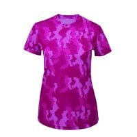 Function t-shirt camouflage lady