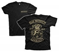 Gas Monkey Garage big patch T-Shirt 1