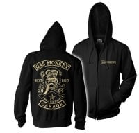 Gas Monkey big patch ziphoodie 1
