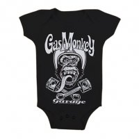 Gas Monkey Garage - Biker Monkey Baby body