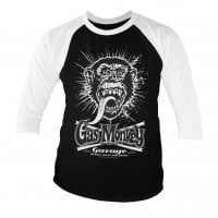 Gas Monkey Garage explosion baseball tee 3/4 sleeve