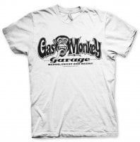 Gas Monkey Garage logo T-shirt white
