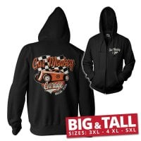 Gas Monkey Garage racing big and tall ziphoodie 1