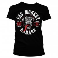 Gas Monkey Garage Round Seal tjej t-shirt 1