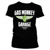 Gas Monkey Garage - Speed Wheels tjej t-shirt 1
