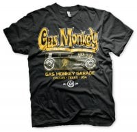 Gas Monkey Garage T-shirt - green hot rod