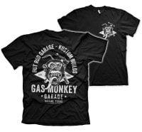 Gas Monkey torch and hammer T-Shirt 1