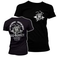 Gas Monkey torch and hammer T-shirt girly 1