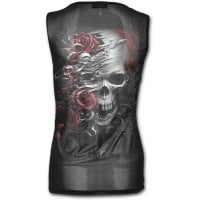 Gothic Rock with translucent printed back back