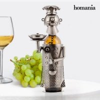 Chef metallic bottle holder 1