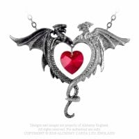 Necklace with dragons