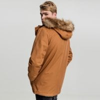 Heavy Cotton Parka toffee 2