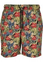 Men's shorts with tropical pattern 1